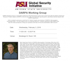 DARPA working group