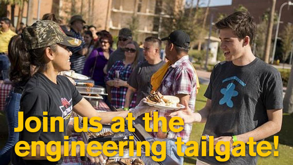 Join us at the engineering tailgate
