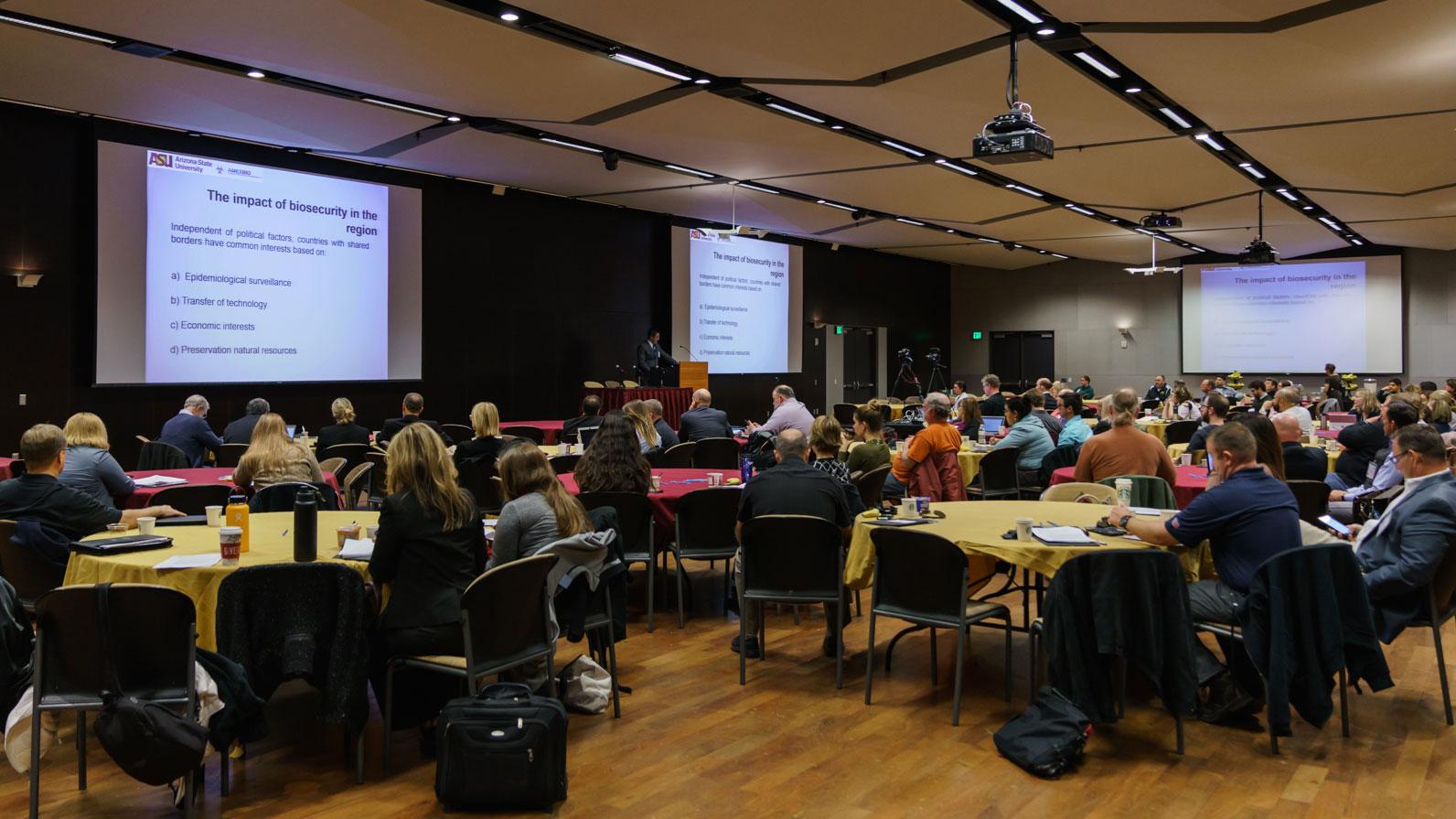 Presentation during 2017 Biosecurity Workshop
