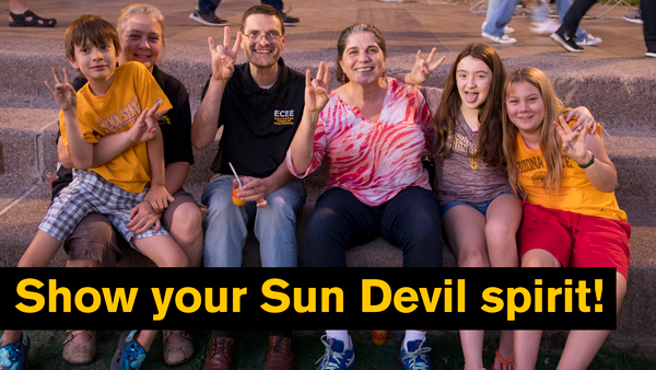 Show your Sun Devil spirit