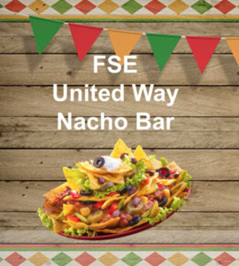 United Way Nacho Bar