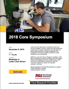 2018 Core Symposium Flier