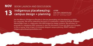 Indigenous Placekeeping book launch and discussion