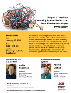 Dialogues in complexity flier