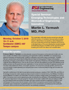 Special Seminar flyer
