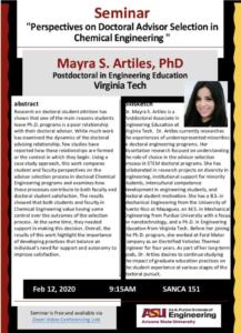 Mayra Artiles flyer